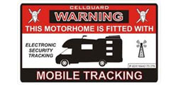 Caravan Alarm Systems & Security Lights
