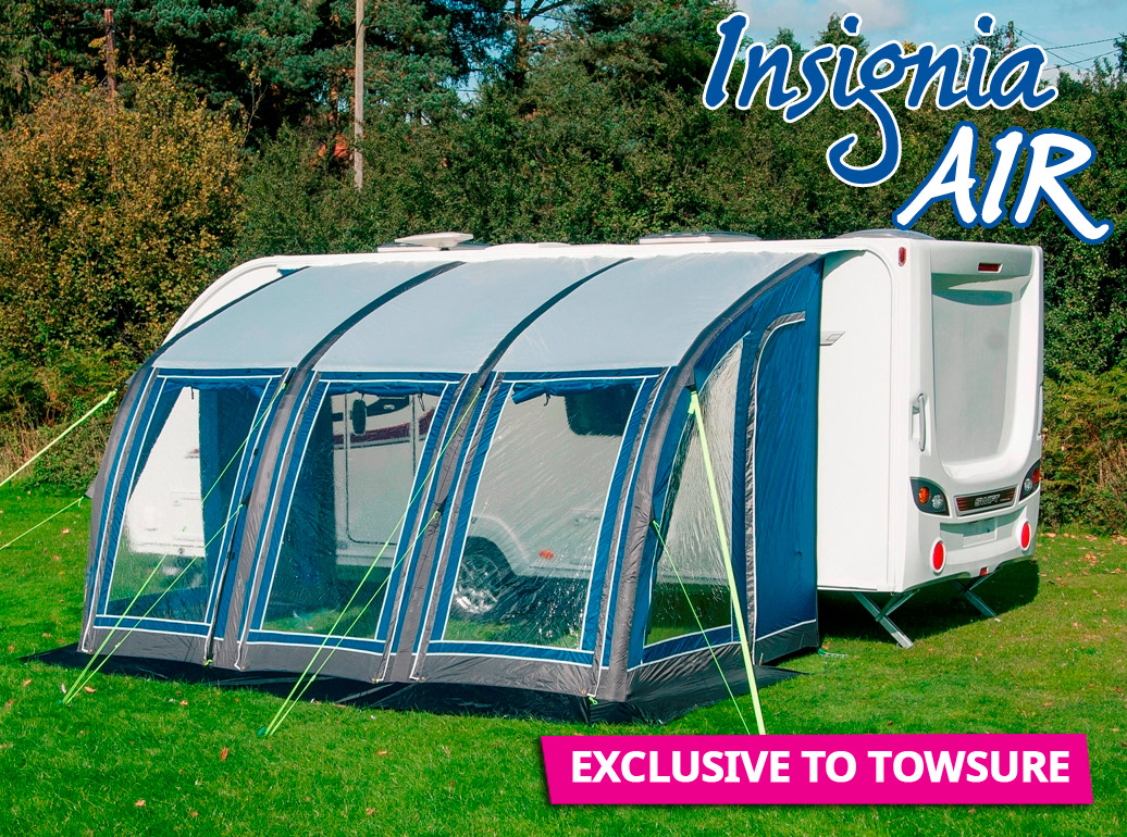 Towsure Insignia Air - Inflatable Caravan Porch Awnings by ...