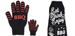 Barbecue Aprons & Gloves