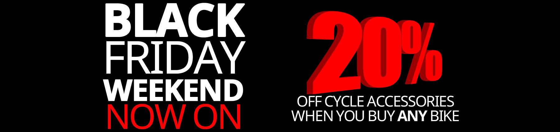 Home Large | Black Friday | 20 Bike Accessories