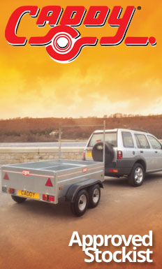 Approved Caddy Trailers Stockist