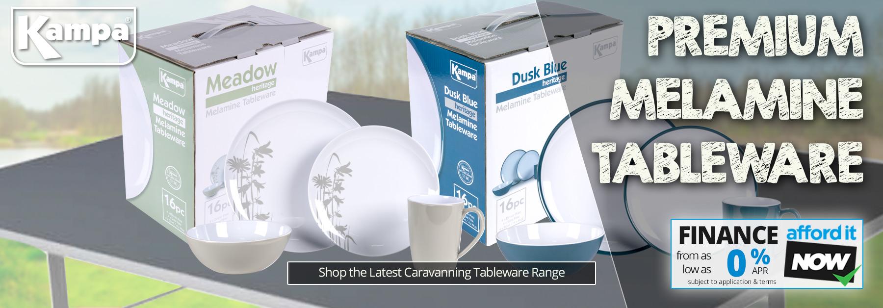 New 2020 Kampa Melamine Tableware