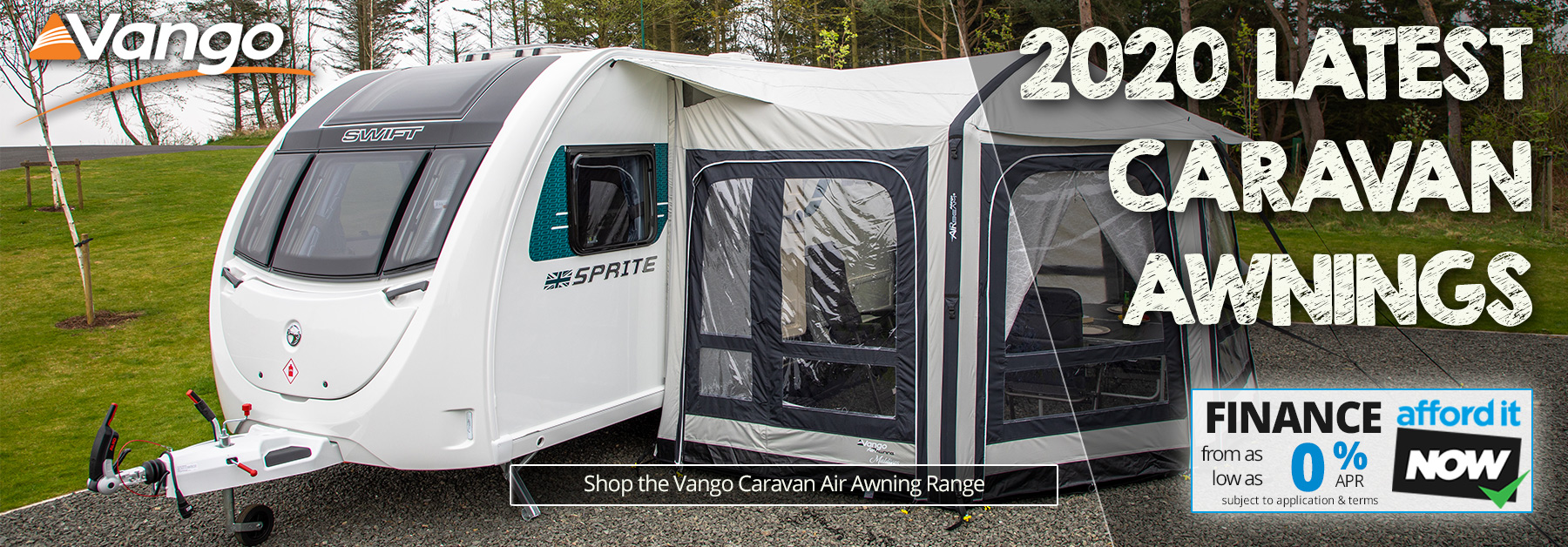 Vango Caravan Air Awnings - Newest Models