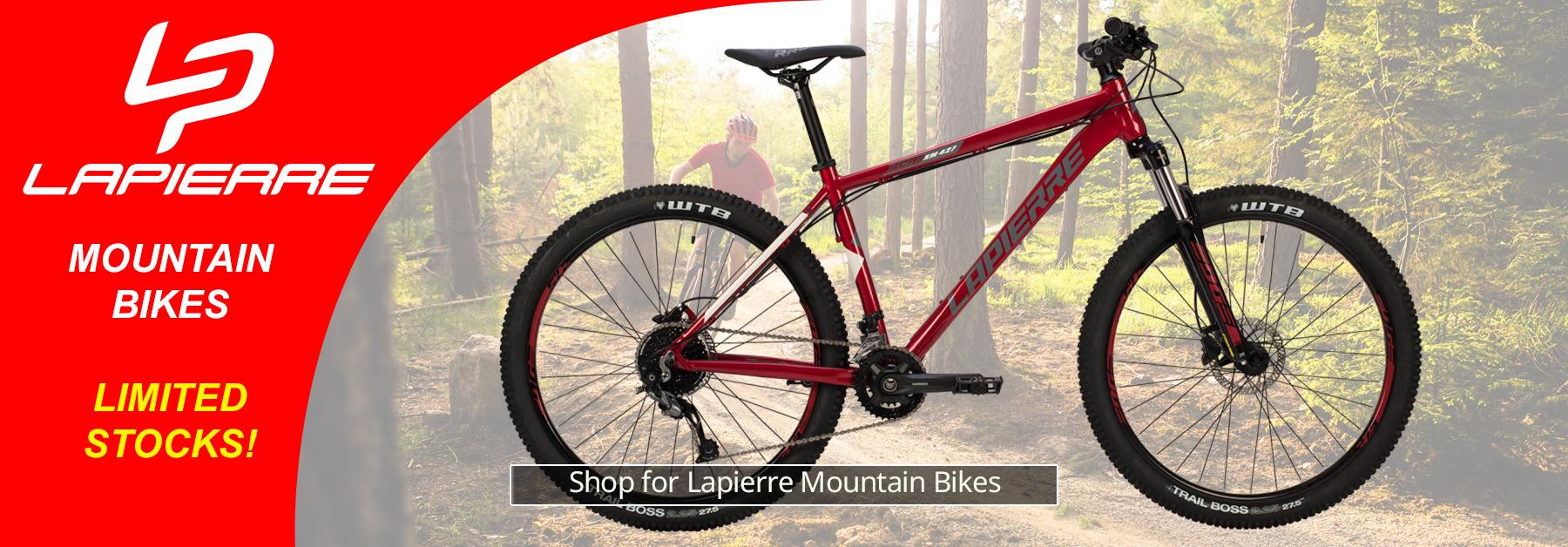 Lapierre Mountain Bikes - Limited Stocks