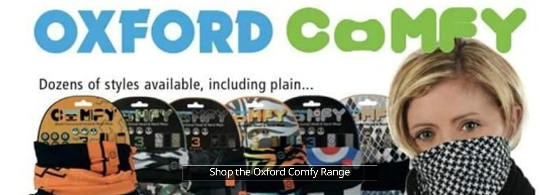 Oxford Comfy Scarves Neck Face Coverings