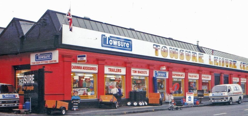 Towsure Shop in the early 1990s