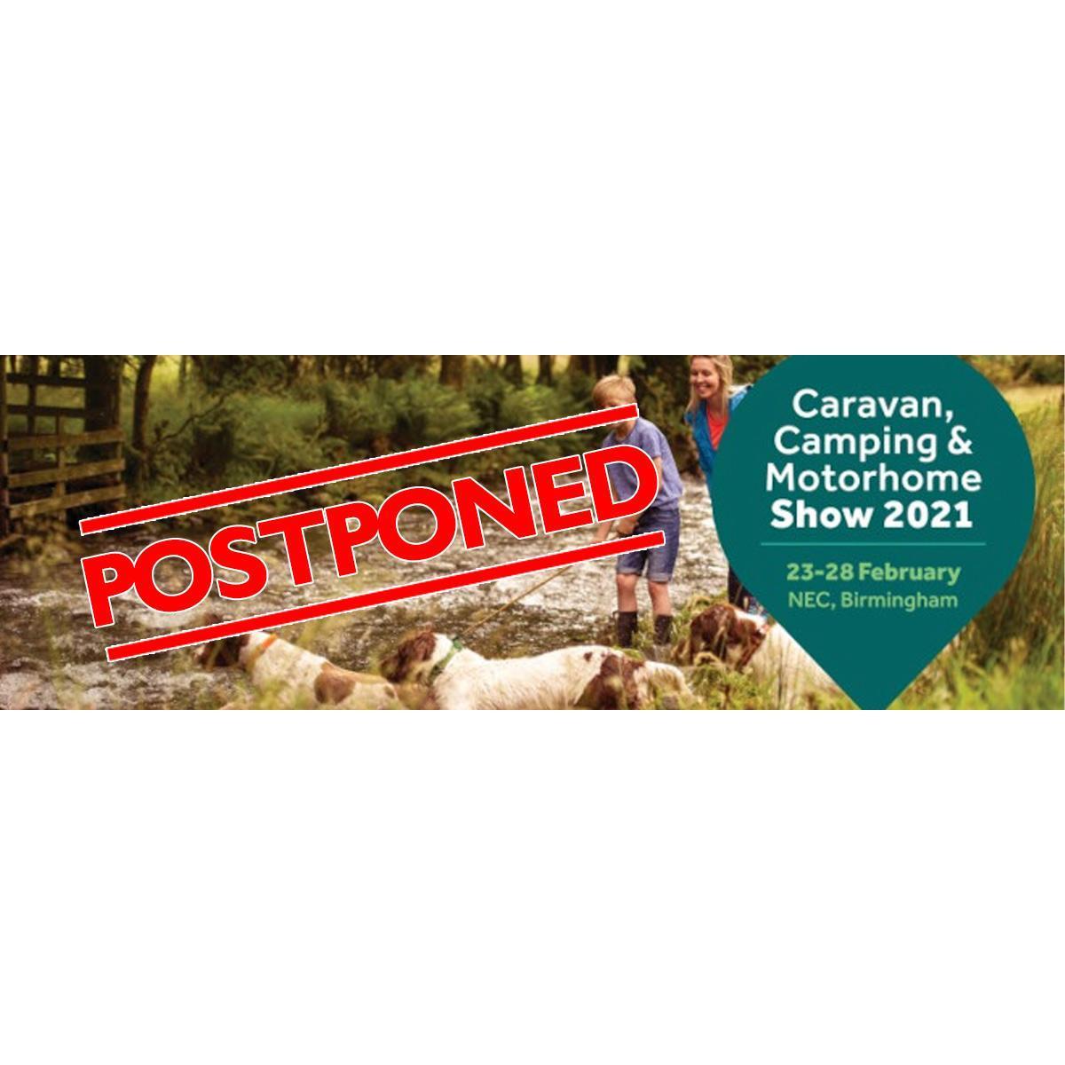2021 Caravan, Camping & Motorhome Show to be Postponed