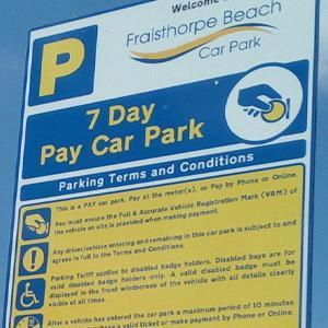 Day Trippers to Popular East Yorkshire Coast Beauty Spot Complain of Parking 'Fines'
