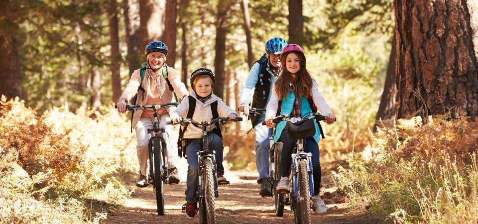 What to consider when cycling with children