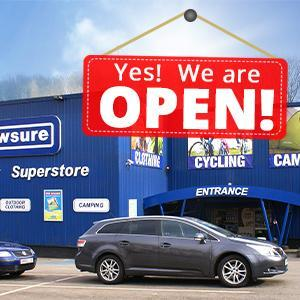 Our Stores are now Open as Normal