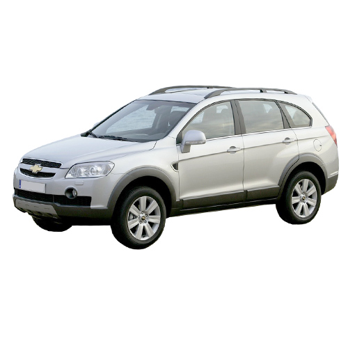 Chevrolet Captiva 2007-2015 (With-out Trailer Preparation)