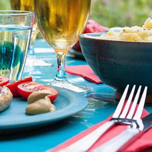 Barbecue Plates & Tableware