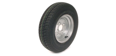 Trailer Wheels c/w Tyres