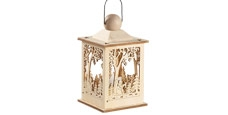 Christmas Lanterns, Candles & Holders