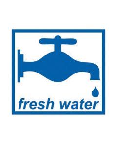 Caravan and Motorhome Fresh Water Sticker