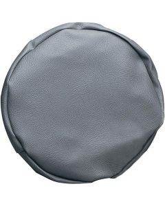 Leathercloth Trailer Wheel Cover - 8 Inch Wheel