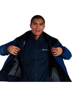 Berghaus Prism Micro Polartec Interactive Fleece Jacket - Dark Blue