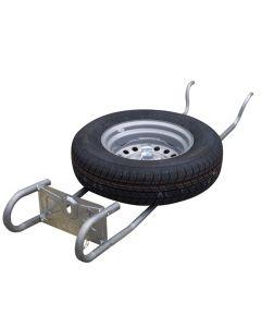Al-ko Caravan Spare Wheel Carrier