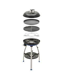 Cadac Carri Chef 2 Gas Barbecue - Flat Pan Combo