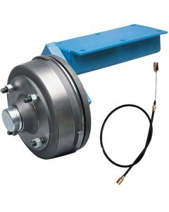 Braked Trailer Suspension Units 750kg - 10 Inch Wheels