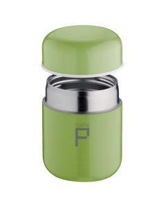 Food Pod Stainless Steel Vacuum Food Jar - 280ml - Lime Green