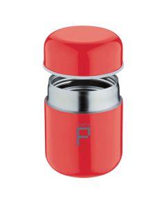 Food Pod Stainless Steel Vacuum Food Jar - 280ml - Flame Red