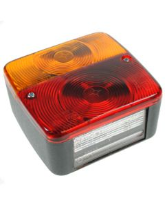 4 Function Trailer Rear Light Cluster 100mm Square