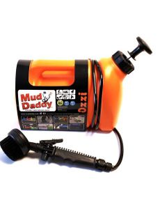 Mud Daddy Portable Washing Device - 5 Litre Orange
