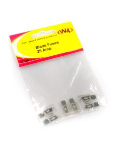 Blade Fuses 25 Amps - Pack of 3