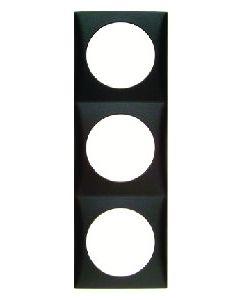 Berker Triple Frame - Anthracite