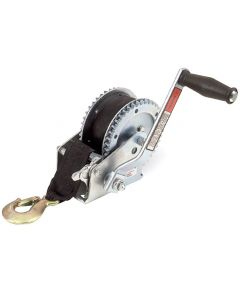 Hand Winch With Strap - 1500kg Breaking Capacity
