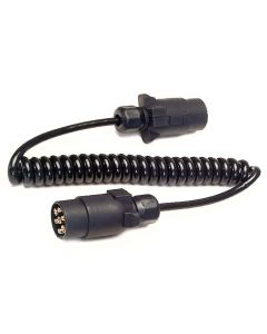 Towbar Connection Lead - N-type (black) - 1.5 Metres Coiled