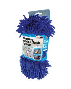 Microfibre Wash and Scrub Sponge