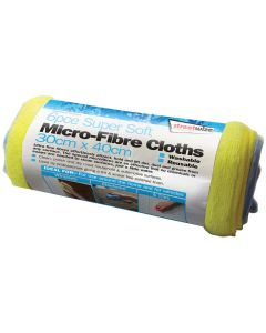 Super Soft Microfibre Cloths - 6 Piece