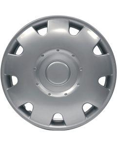 13 Inch Caravan Wheel Trims - Silver
