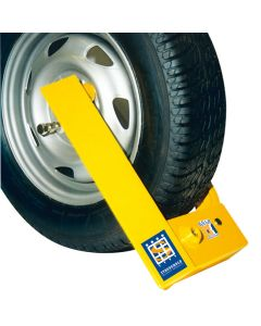Stronghold Trailer and Caravan Wheelclamp - for Steel Wheels