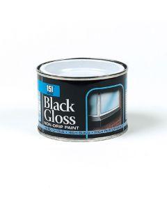 Iron Gate Paint - Black Gloss - 200ml