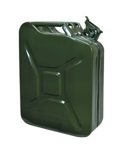 Army Type Metal Fuel Can - 20 Litres