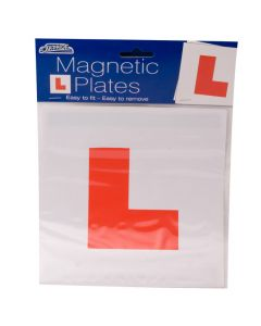 Magnetic L Plates (Red) Per Pair