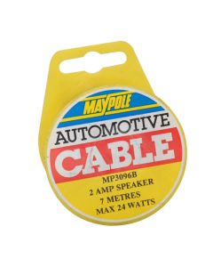 2 Amp Speaker Cable -  7 Metres