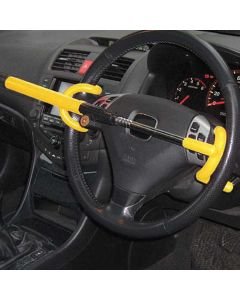 Double Hook Car Steering Wheel Lock