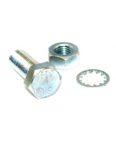 M16 x 40 Bolt with Nut and Shakeproof Washer - Pair