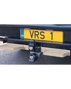 Double Van Rear Step - Plated