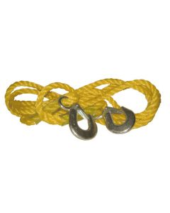 Streetwize Tow Rope With Hooks (1200kg)