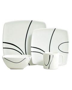 Zen 16 Piece Melamine Tableware Set