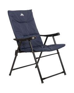 Trespass Paddy Padded Folding Camping Chair Navy