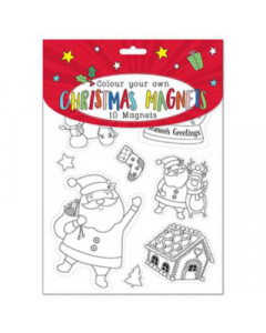 Tallon Colour Your Own Christmas Magnets