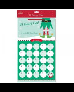 Tallon Elf Reward Chart With Stickers