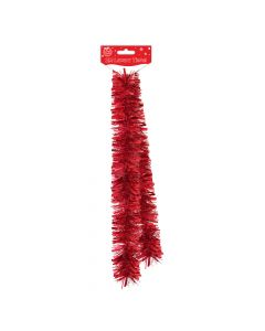 Luxury Red Tinsel - 2mtr