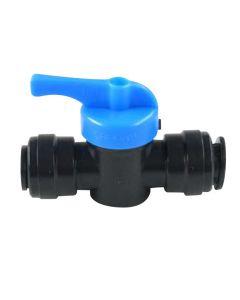 Caravan Push-Fit Water Stop Tap Valve